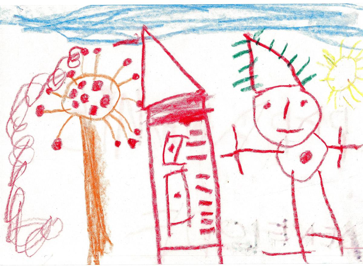 Le dessin de la maison orthophoniste - Dessin maison enfant ...